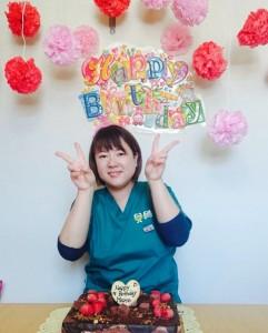椎野さん誕生日1