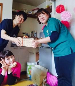 椎野さん誕生日3